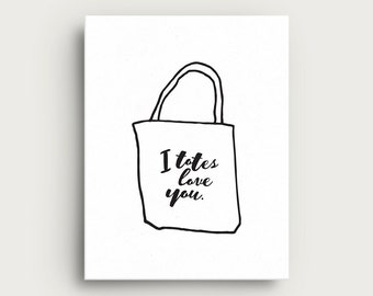 Scotch + Roux | TOTES LOVES Greeting Card