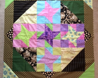 Custom Friendship Star Baby Quilt