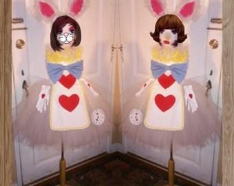 Alice in wonderlands. Rabbit tutu costume set