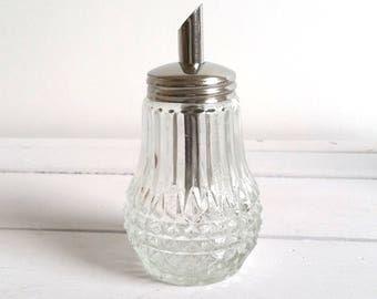Vintage glass sugar castor (5)