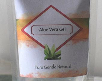 ALOE VERA GEL - Natural, Fragrance Free, Pure - 4oz