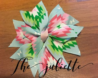 "Dog Collar Bow  ""The Juliette"""