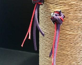 Loops bicoloured flowers