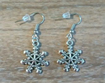 Christmas Snowflake Earrings