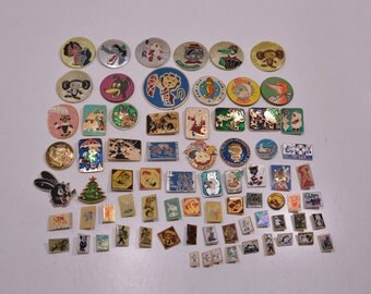 Set Badges Pins Animated Cartoons Fairy Tales Children's Stories Art Collection Memorabilia Souvenirs