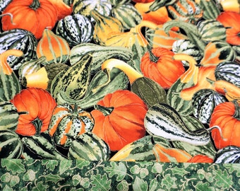 Thanksgiving Table Runner Holiday Table Runner Pumpkin Table Runner Fall Table  Runner Harvest Table Runner Autumn