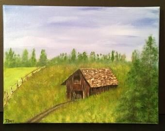 Acrylic Paining, Art, Landscape