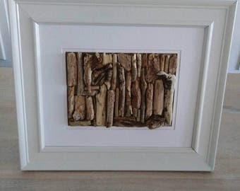 Driftwood Beach decor framed art
