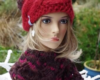 Loopschal soft Merino Wool