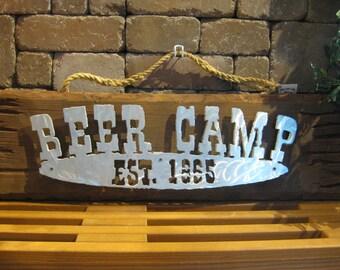 Beer Camp Sign