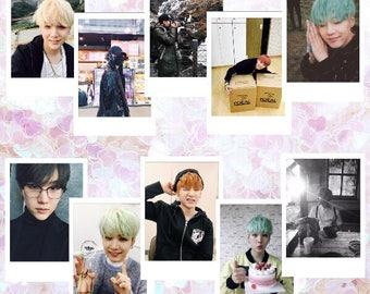 MIN YOONGI | 방탄소년단 BTS Suga Instax Boyfriend Theme Polaroid Photo Card Pack