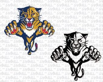 Panthers svg | Etsy