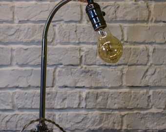 Handmade Industrial Table Lamp