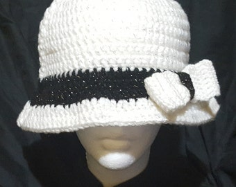 Crochet Large Cloche Style Hat