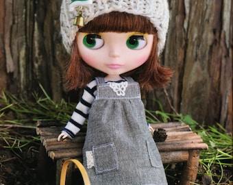 Blythe Doll E Pattern Japanese PDF Dress T-shirt\Jumper Stockings