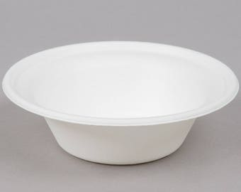 25 Count 12 oz Biodegradable, Compostable Sugarcane Bowl, Disposable Bowl, Tableware, Party Tableware, Party Supplies, Party, Bowls