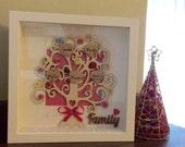 Family Tree Button Frame