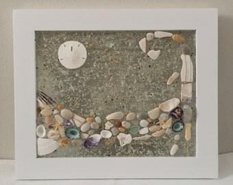 Cape Cod, Beach Decor, Home Decor, Coastal Home, Wall Decor, Wall Hanging, Beach House, Seashell Decor, New England
