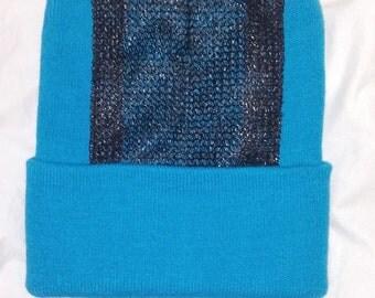 Head Spin Beanie (Miami Neon Blue)