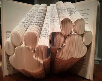 Paw Prints Book Folding