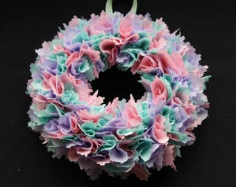 Tatty Fabric Wreath
