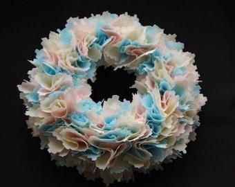 Tatty Fabric Wreath