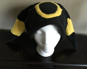 Pokemon Eeveelution Umbreon Fleece Hat