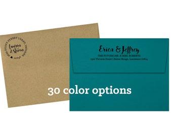 Custom Envelopes (5 1/4 x 7 1/4) - 50 pack