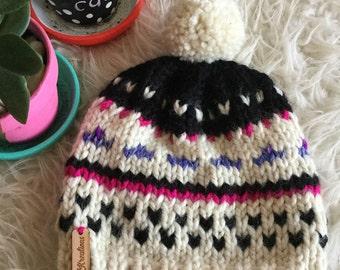 Knit Beanie~ The Mastani