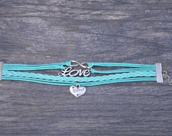Sister Charm Bracelet-Sister Jewlery-Sister Gift-Perfect Gift for Sisters-Perfect Sister Gift for Christmas