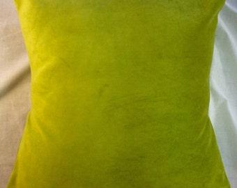 lime green pilllows,lime green pillow covers,chartreuse pillow,green pillow sham,throw pillow, Luxury pillows,16x16 pillow,20x20 pillow