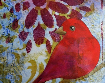 Scarlet Tanager No. 2
