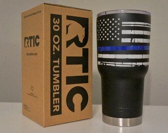 Blue Lives Matter RTIC Tumbler