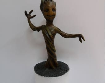 Groot Made from resin