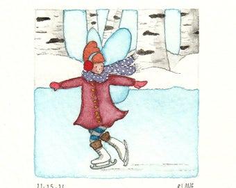 Phoebe the Fairy: Ice-Skating