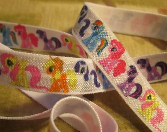Sale!!!My Little pony FOE elastic- Bow making, headband or decorate and get yards for free!!!
