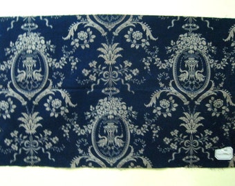 Antique 19th Century French Neoclassic Toile Cotton Print Fabric