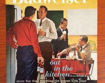 1962 Budweiser Ad