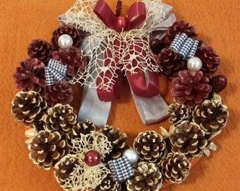 Elegant wreath for door