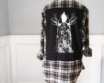 Slender Man Flannel T