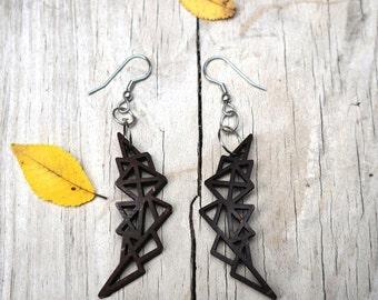 Abstract Geometric Earrings