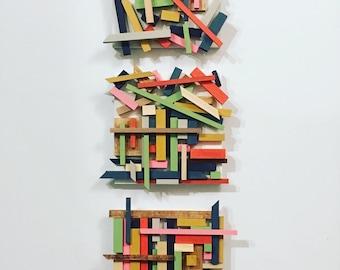 Abstract Art, Modern Wall Art, Mid Century Style ****FREE SHIPPING
