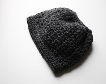 Spring Messy Bun Beanie Knit Bun Hat Ladies Ponytail Hat Running Hat Workout Hat Chunky Knit Hat Merino Knit Hat Alpaca Crochet Hat