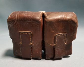 Leather Mauser Duo Ammunition Pouches