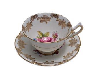 Vintage Collingwoods Bone China Teacup, English Bone China Teacup, Tea Party, Bridal Shower, Replacements, Bridesmaid, Wedding