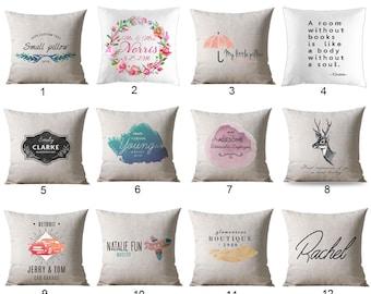 Personalized decor, Personalized home decor, Personalized Pillow Throw Pillow, Home pillow, New Home Gift, Home Decor Gift