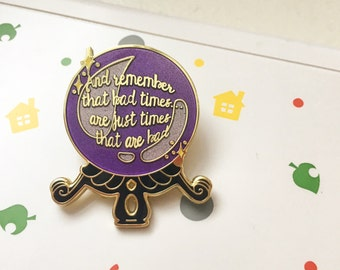 Animal Crossing New Leaf hard enamel pin