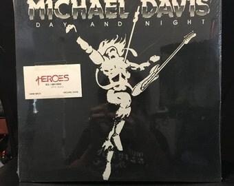 ON SALE Vintage 1983 Michael Davis Heros SEALED Vinyl Record Good Condition