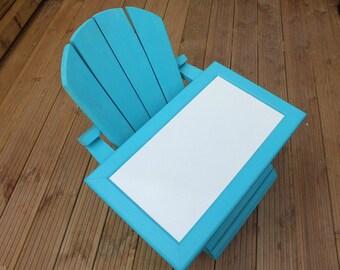 Dry Wipeboard Whiteboard Wipe Board White Board 50cm x 30cm Beach Blue