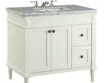 "35"" English inspired Braemar Bathroom Vanity - 91715B"